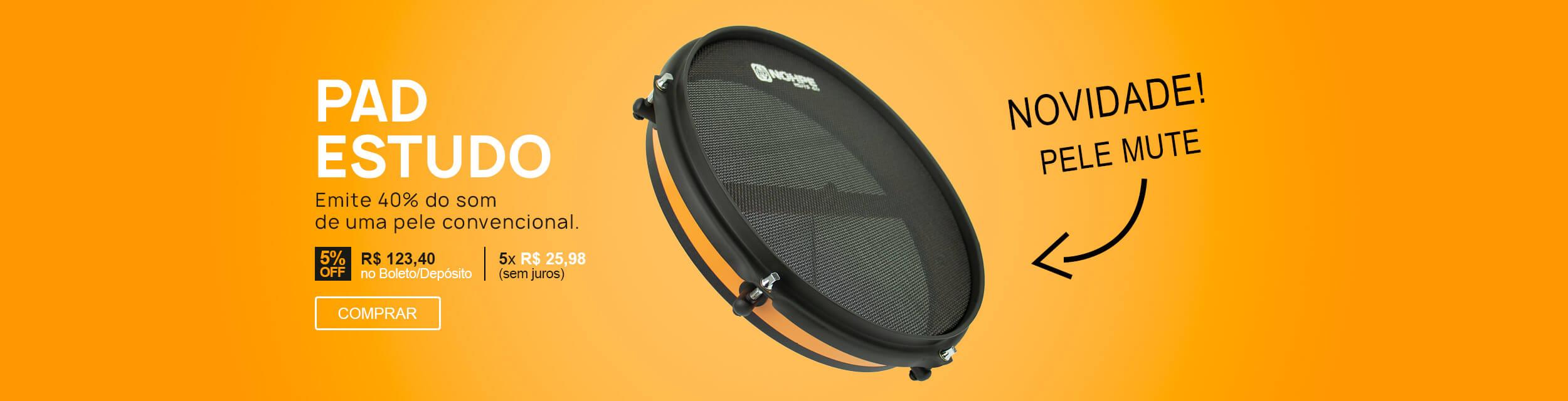 F - Pad Laranja Estudo Pele MutE Luen Percussion