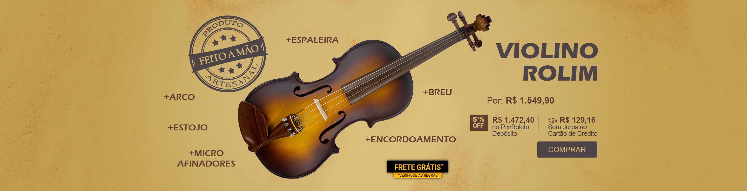 Violino 4/4 Special Sombreado Rolim