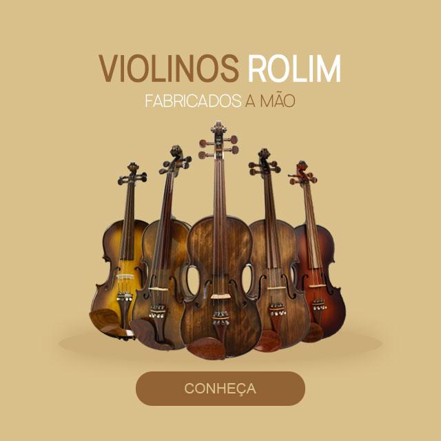 Violinos Rolim Fabricados a Mão