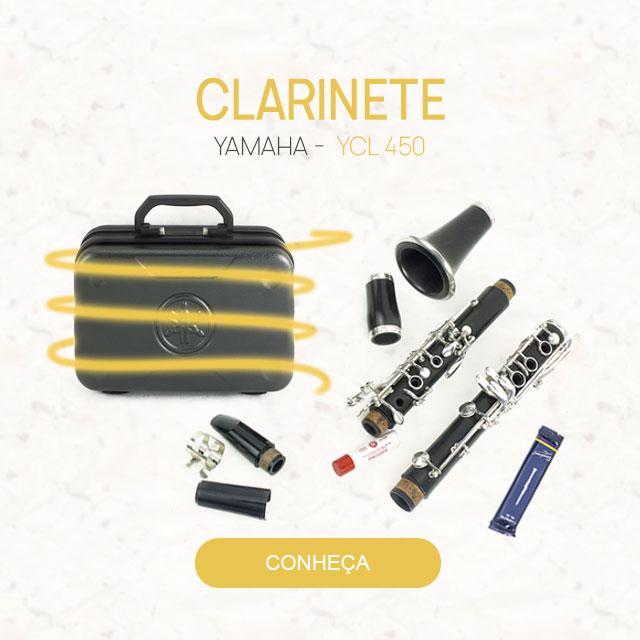 F - Clarinete Yamaha YCL 450
