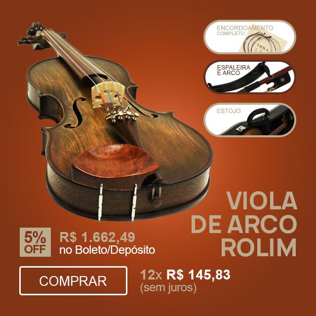 F - Viola de Arco 42cm Rolim