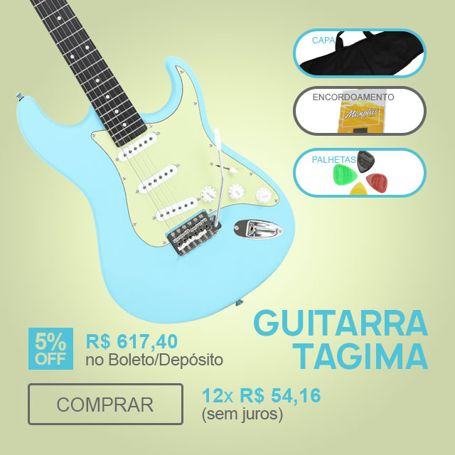 F - Guitarra Stratocaster