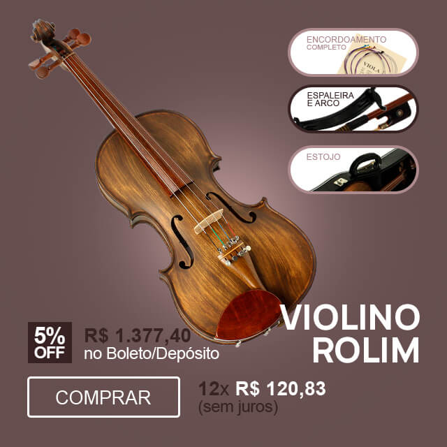 F - Violino 4/4 Fosco 2 Rolim