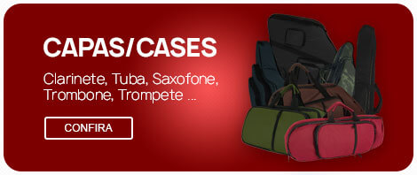 Capas/Cases - Saxofone, Clarinete, Trombone, Tuba ...