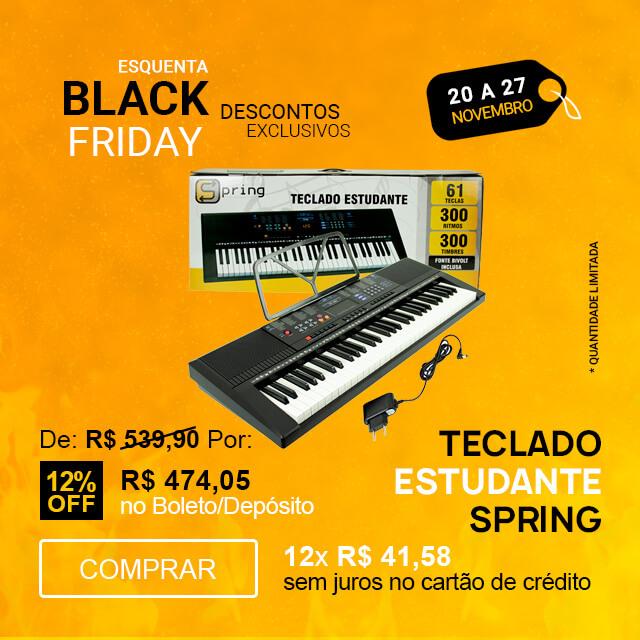 F - Esquenta Black Friday 2020 - Teclado Spring