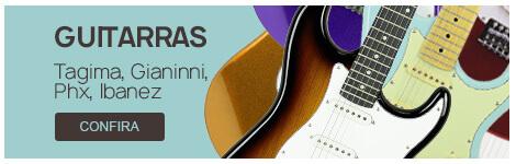 Guitarras - Tagima, Giannini, Phx, Ibanez