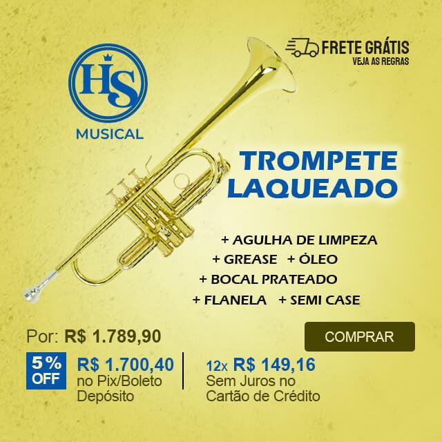Trompete Do ( C ) Laqueado HS Musical HS1024L