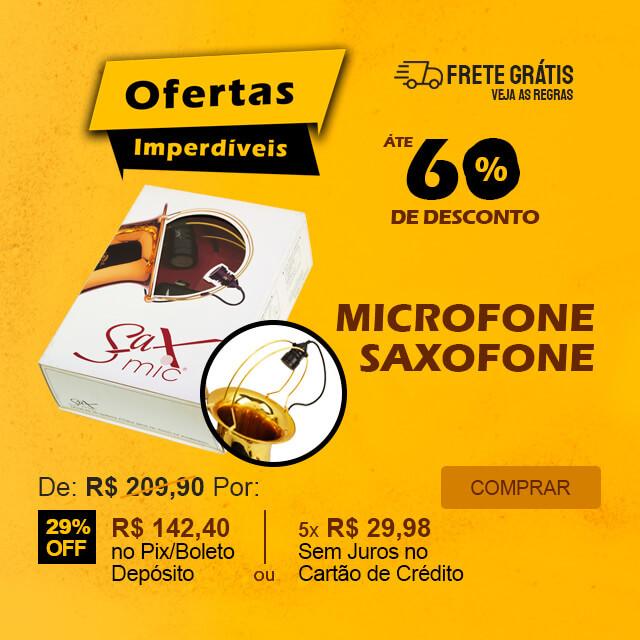 Ofertas Imperdíveis - Microfone para Saxofone