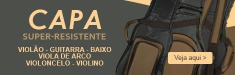 Capa Super-Resistente para Violão, Guitarra, Teclado